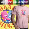 Care Bears Cheer Grumpy Bear Hugs Friends Cartoon Unisex Mens Tee Crew T-Shirt