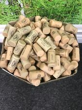 100 - USED WINE CORKS - WEDDINGS, FISHING, ARTS & CRAFTS - PLASTIC & RESIN ONLY