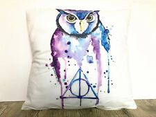 1x Simple Simple Ink painting owl Home Decor sofa Cushion Covers Pillow Case 18'