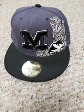 Mizzou New Era Baseball Cap Hat University of MO Embroidered size 7 1/8