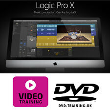Apple Logic Pro tutorial de formación de video profesional – X DVD 2016-más de 8 horas