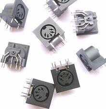 50 PCS x PCB Panel Mount MIDI Female DIN5 Jack Jacks D501 DS power socket 5pins