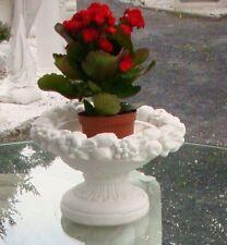 Vase Pflanzschale rund terracotta Patina Kübel Gartendekorationen Sonderangebot