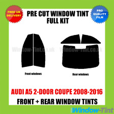 AUDI A5 2-DOOR COUPE 2008-2016 FULL PRE CUT WINDOW TINT