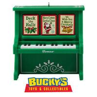 Caroling Piano 2016 Hallmark Ornament - Musical Music Song Light Merry Christmas