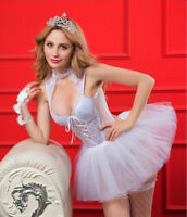 Sexy Lace Princess Uniform Dress Lingerie Theme Party Costume Role Play Cosplay