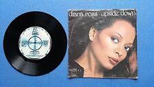 329 - 45 giri DIANA ROSS UPSIDE DOWN - MOTOWN 1980