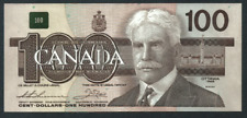 **1988**Canadian $100 Dollar Note Thi/Cro circulated AJW5502091