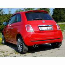 Fox Sports Exhaust Fiat 500 2x 76mm Stainless Steel