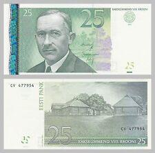 L' Estonia/Estonia 25 krooni 2007 p87 UNC