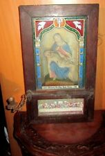 Antique Last Rites Box, Antique Religious, Antique Church Viaticum.
