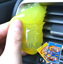 1x Home Car Interior Air Vent Cleaning Tool Glue Gum Dust Cleaner Dash Cover Gel
