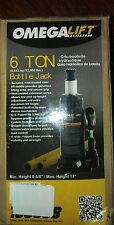 Omega lift Jack 6 Ton T91213W Hydraulic Pump Bottle Lift Hoist Car