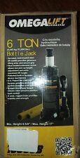 Omega lift Jack 6 Ton T91213W Hydraulic Pump Bottle Lift Hoist Car