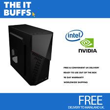 IT Buffs PRO Intel I7 GTX 1070 16GB 120GB SSD Windows 10 Gaming Desktop PC