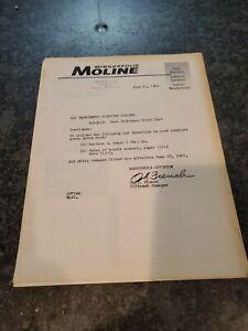 Vintage 1960 MINNEAPOLIS MOLINE TRACTOR DEALER ADVERTISING BOOKLET