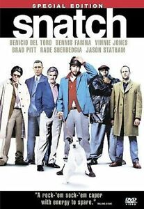 Snatch (Special Edition) DVD, Alan Ford, Jason Flemyng, Andy Beckwith, Nikki Col