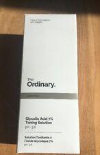 New The Ordinary Skincare Glycolic Acid 7% Toning Solution 240ml