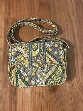New Vera Bradley Rachel Lemon Parfait Purse Handbag Teal/yellow Crossbody