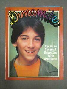 Comic   Dynamite Magazine   Scott Baio   1980   Robin Williams Popeye Houdini