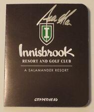 SEAN O'HAIR Autographed INNISBROOK Scorecard-VALSPAR CHAMPIONSHIP