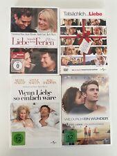 Romanze & Liebesfilme DVD Sammlung (4-DVDs von Universal Studios) DVD
