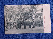 Kuala Kangsa Malaysia-Straits Settlements/3 Elephants-Town View/Printed Photo PC