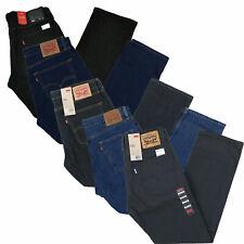 Джинсы Levis 505 мужские прямые посадки джинсовые брюки повседневный низ нашивка застежка на молнию