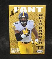 2019 Sage Hit Noah Fant RC Premier Draft Denver Broncos Rookie #2