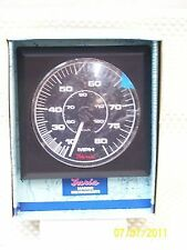 NOS  / BRAND NEW Faria; 80 MPH speedometer Competition series  P# FAR 43219