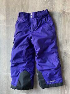 columbia girls XXS omni heat snow pants