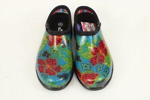 Sloggers All Day Comfort Women's Waterproof Rain & Garden Sz 6 Midsummer Blue