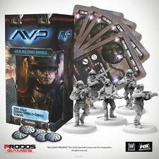 New Alien Vs Predator The Hunt Begins USCM Marines Multipart Expansion AVP UK