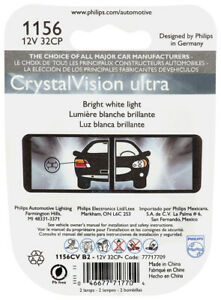 Phillips 1156CVB2 CrystalVision ultra miniature 1156 Tail Light Bulb