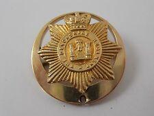 ANTIQUE 9ct GOLD THE DEVONSHIRE REGIMENT CAP BADGE HALLMARKED BHAM 1886