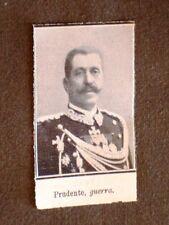 La politica in Italia nel 1910 Prudente, Ministro della guerra