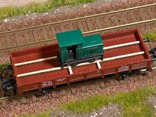 Busch 1686 Feldbahnlok Gmeinder 15/18 ohne Antrieb passend für Güterwagen H0 Neu