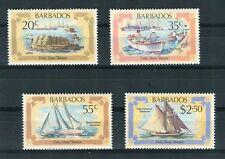 Barbados 1982 Primi trasporti marittimi Yvert 552 - 55 MNH