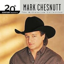 "MARK CHESNUTT, CD ""20th CENTURY MASTERS, THE MILLENNIUM COLLECTION"" NEW SEALED"