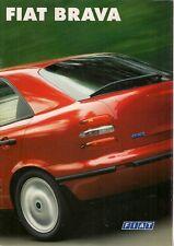Fiat Brava 1995-96 German Market Sales Brochure S SX EL ELX 1.4 1.6 1.8
