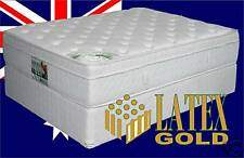 Queen Latex Gold Luxury Pillow Top Mattress