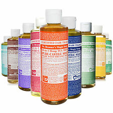 Dr Bronner Castile liquid soap Castile Organic 237ml Vegan Fair trade