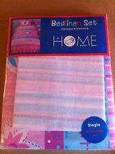 PINK Girls Photo Single Little Flower DUVET SET - BRAND NEW! COOL Kids Bedding!