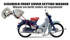 HONDA C100 C100 C102 C105 CA105 C65 FRONT COVER LEGSHIELD WASHER 1PAIR L+R [K]