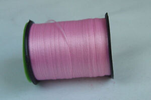100m Fil PLAT montage ROSE 6/0 montage mouche fly tying thread pink