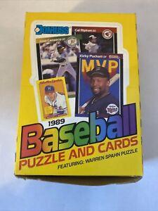 1989 Donruss Baseball Wax Box of 36 Sealed Packs Griffey JR RC?