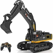 RC Excavator Tractor Construction Engineering Toy Truck, 1/18 Scale Digger