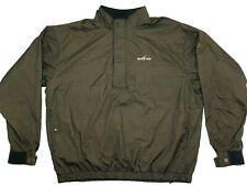 FOOTJOY DRYJOYS NEW Mens XXL REX CLASSICS 1/4 Zip L/S Golf Pullover Jacket 2XL