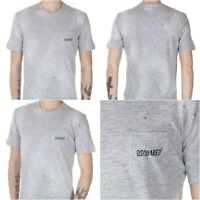 Dsquared2 Men's Dan Fit Pocket Tee Grey T-shirt Size M SS 2015 S71GD0201 $45