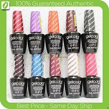 OPI GelColor Kit - SET OF 10 Any Soak Off Gel Nail Colour UV Led Lot >> Ship 24H